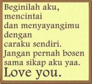 kata cinta buat pacar