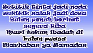 kata kata bulan ramadhan