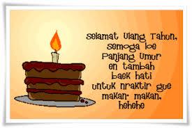 kata kata ucapan ulang tahun untuk sahabat