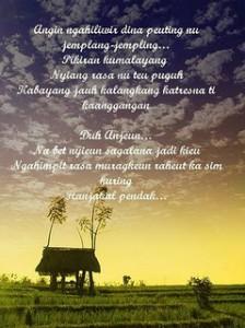 1 puisi bahasa sunda