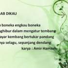 Ini Dia Puisi Karya Amir Hamzah