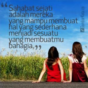 3 kata kata untuk persahabatan