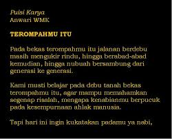 3 puisi bahasa indonesia