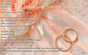 3 ucapan pernikahan islami