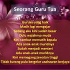 Ini Dia Puisi Tentang Untuk Guruku Tercinta