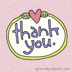 4 ucapan terima kasih