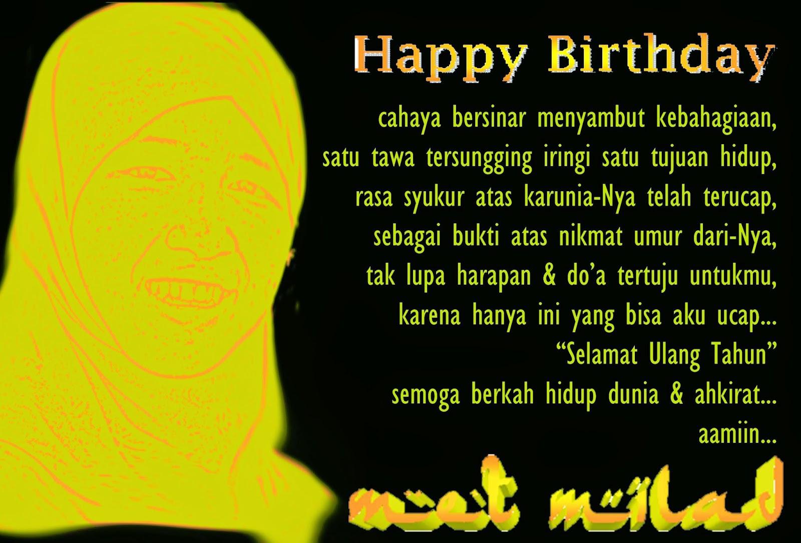 5 ucapan selamat ulang tahun islami