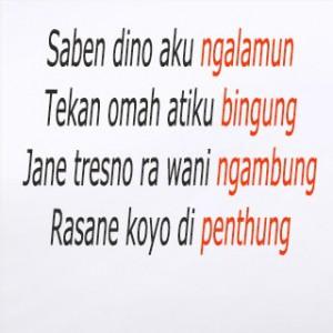 6 kata kata cinta bahasa jawa