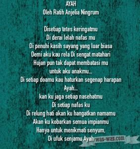 6 puisi keluarga