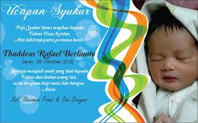 6 ucapan kelahiran bayi