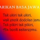Ini Dia Pantun Bahasa Jawa