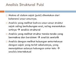 8 struktur puisi