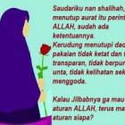 Ini Dia kata mutiara islam tentang wanita muslimah