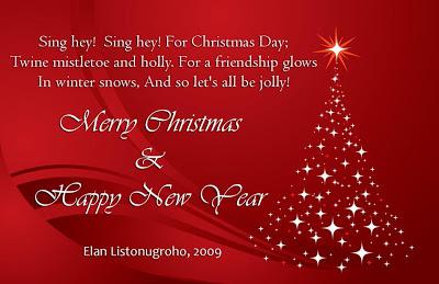 4 ucapan selamat natal dan tahun baru