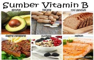 4 buah yang mengandung vitamin b