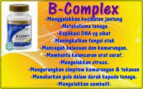 5 manfaat vitamin b complex