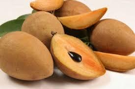 6 khasiat buah sawo