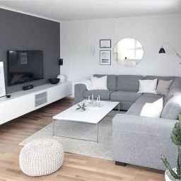 100 Genius Small Living Room Decor Ideas And Remodel (71 pertaining to Grey White Living Room