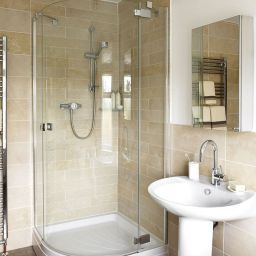13 Fantastic Small Bathroom Design With Shower Ideas | Small for Bathroom Decorating Ideas Pictures