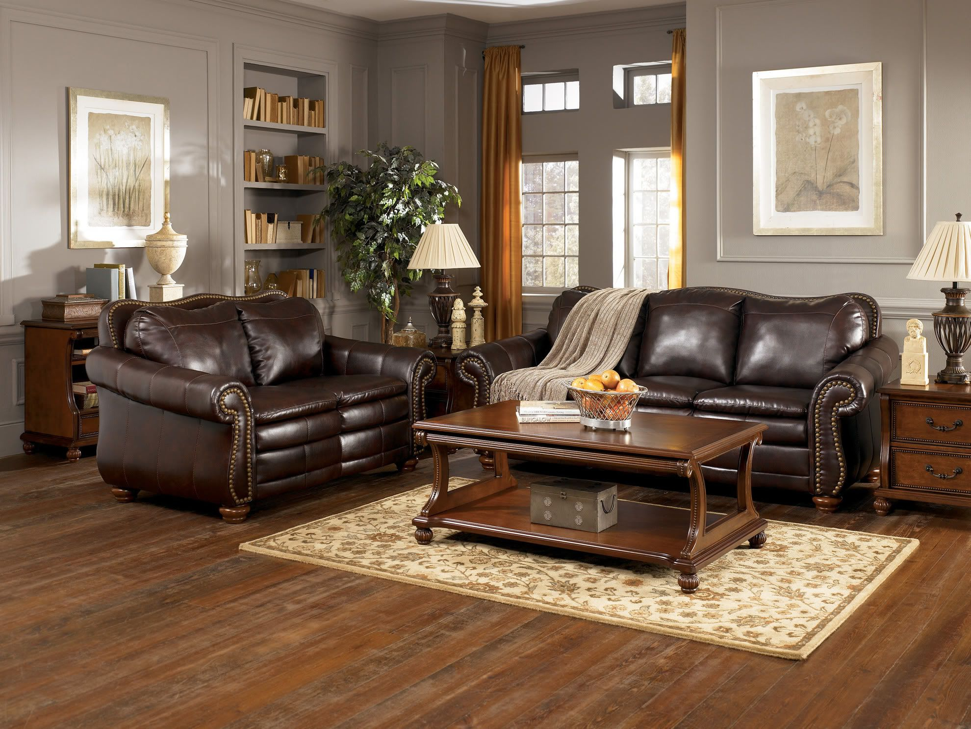 15 Gorgeous Grey-Green Living Room Inspirations   Brown with regard to Paint Colors For Living Room Walls With Dark Furniture