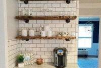 20+ Cool Modern Farmhouse Kitchen Backsplash Ideas | Kitchen inside Diy Kitchen Ideas