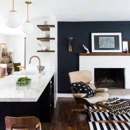 20+ Innovative Black White Wood Kitchens Design Ideas   Home regarding Black And White Kitchen Ideas