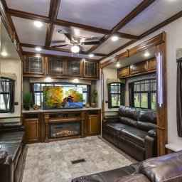 2017 Used Heartland Bighorn Bh 3970 Rd Fifth Wheel In New within 5Th Wheel Campers With Front Living Room