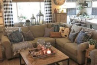 30 Cozy Farmhouse Living Room Decor And Design Ideas intended for Townhouse Living Room Ideas