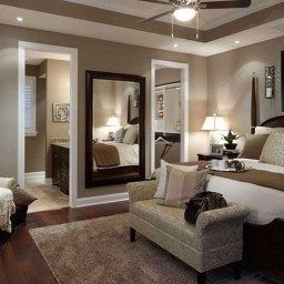 30+ Incredible Master Bedroom Ideas You Should Try in Brown Paint Colors For Living Rooms