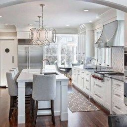 30 Trending Kitchen Island Ideas With Seating | Home Decor in Condo Kitchen Ideas
