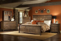 35+ Adorable Rustic Bedroom Design Ideas For Nice Sleep pertaining to Rustic Bedroom Furniture Suites