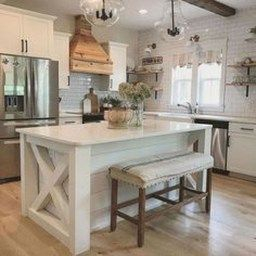 38 Stunning Kitchen Decoration Ideas With Rustic Farmhouse regarding Kitchen Island Ideas With Sink