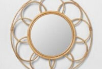 3D Visualizer : Target | Target Home Decor, Rattan, Mirror within Borders For Walls Living Room