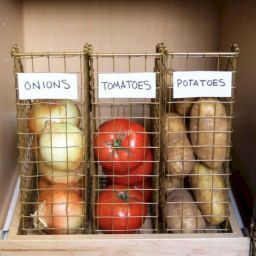40 Smart Kitchen Organization Ideas On A Budget | Kitchen intended for Diy Kitchen Organization Ideas