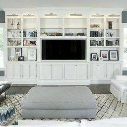 46 Amazing Bookshelves Decorating Ideas For Living Room inside Living Room Bookshelf Decorating Ideas