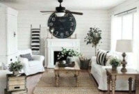 46 Popular Living Room Decor Ideas With Farmhouse Style pertaining to Living Room Chair Ideas