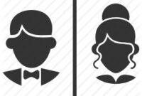 65 Best Logos Images In 2020 | Toilet Signage, Bathroom in Decorative Bathroom Door Signs