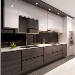 85 Awesome Modern Kitchen Design And Decor Ideas   Latest within Kitchen Cabinet Ideas For Small Kitchens