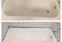 Amazon: Customer Reviews: Rust-Oleum 7862519 Tub And within Bathroom Tile Paint Kit