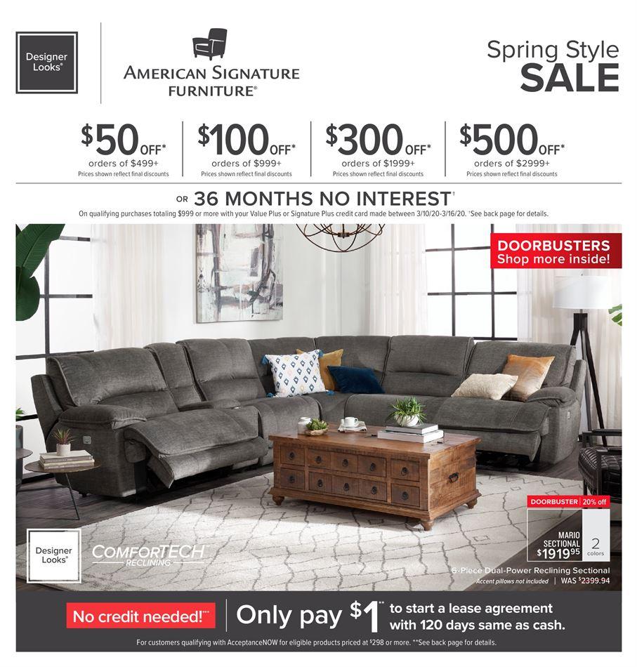 American Signature Furniture In Fort Wayne In | Weekly Ads within American Signature Furniture Coupon