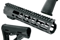 At3 Spear Ar 15 Handguard Furniture Kit | Ar15 Keymod Handguard inside Custom Ar 15 Furniture Kits