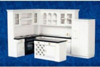 "Aztec 1"" Scale Dollhouse Miniature Furniture: Modern Kitchen inside 1 12 Scale Dollhouse Furniture"