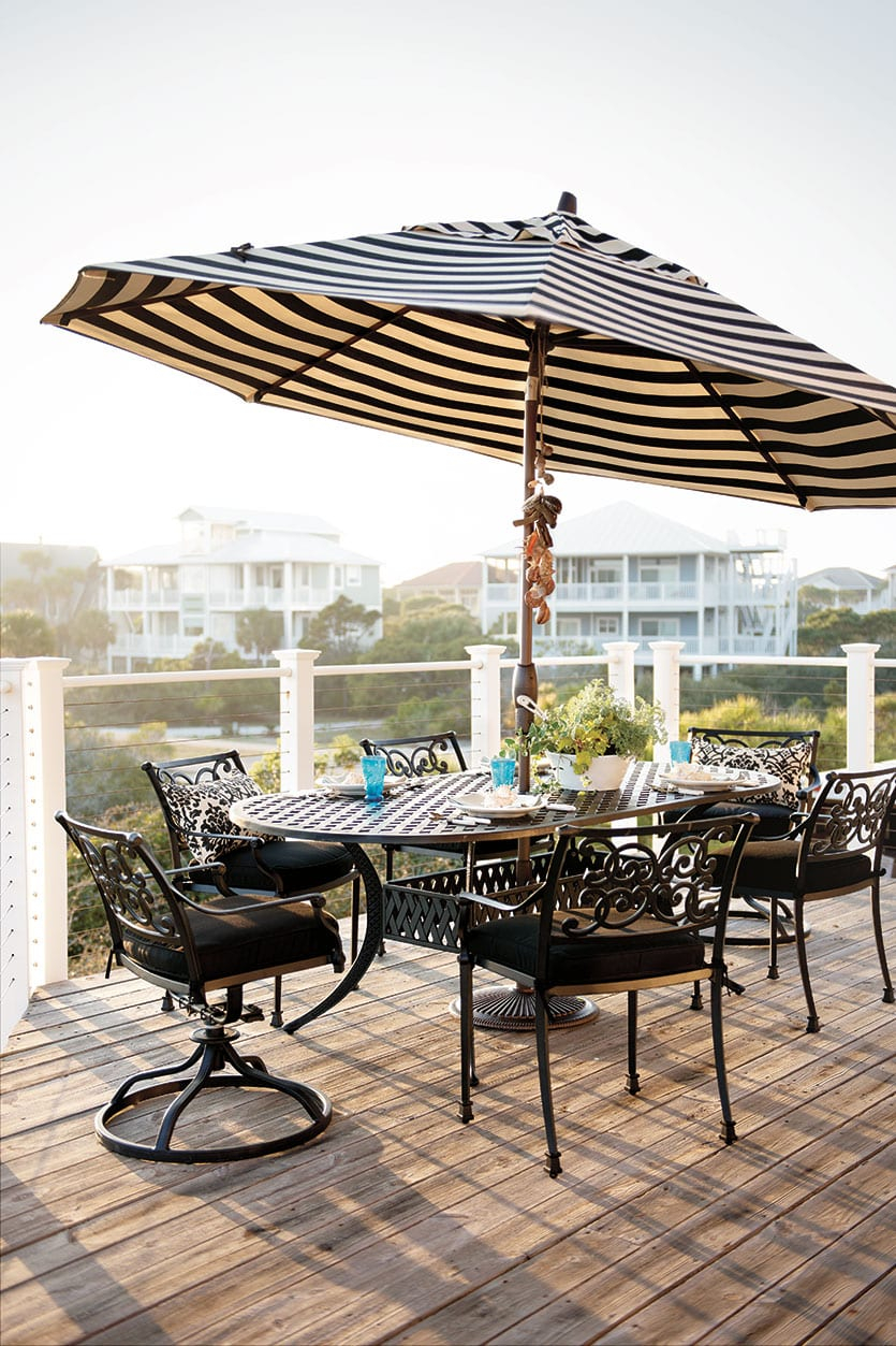 Ballard Designs' Amalfi Outdoor Furniture within Ballard Designs Outdoor Furniture