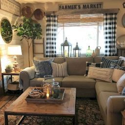 Beautiful French Country Living Room Decor Ideas (19 regarding Beautiful Living Room Decor