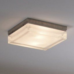 Boxie Flushmount (With Images)   Ceiling Lights, Wall within Ceiling Mount Bathroom Light Fixtures