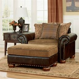 Briar Place-Antique Chair | Chair And A Half, Furniture in Antique Living Room Chairs