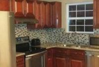 Cherryville Kitchen Cabinets | Rta Kitchen Cabinets, Diy in Kitchen Backsplash Ideas For Dark Cabinets