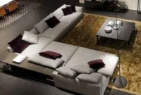 Decorate Homes With A Luxury Modern Corner Sofa Sets (14 in Floor Seating Living Room