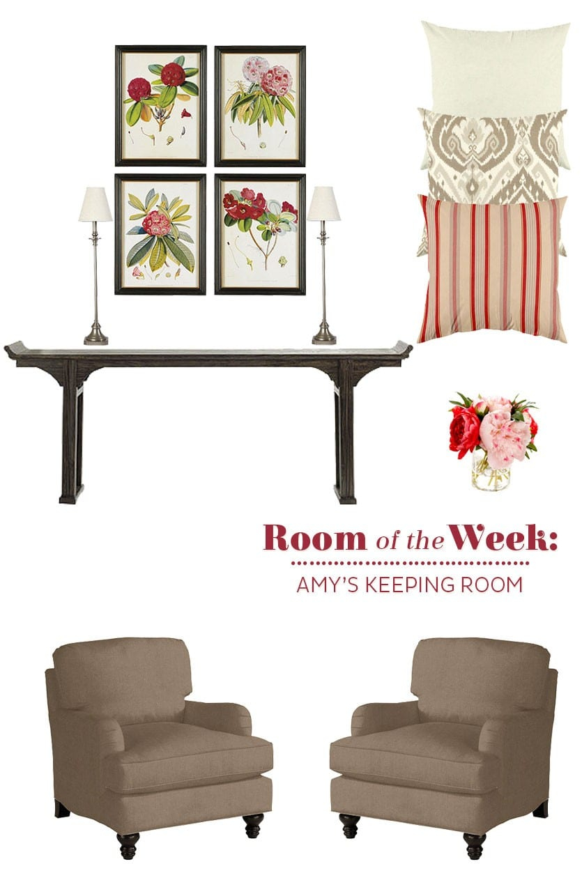 Decorating A Keeping Room Off The Kitchen with regard to The Keeping Room Furniture