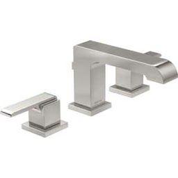 Delta 3 Hole Faucet Delta Faucet Lav Faucet 1 5 Gpm 3 Hole for 2 Handle Bathroom Faucet